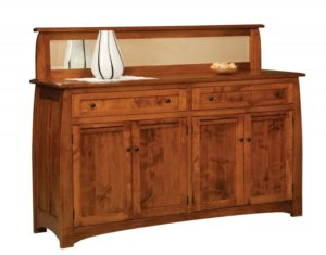 TOWNLINE - Henderson 4-Door Sideboard - Dimensions (in inches): 20d x 72w x 40h, also available as 2- Door 20d x 39w x 40h or 3-Door 20d x 59w x 40h - Mirror topper optional - Custom features and finish options available, please see store for details.