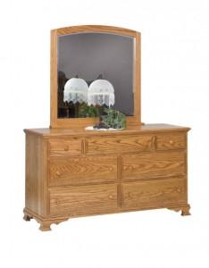 SCHWARTZ - Heritage Dresser - Dimensions: 7 drawers, 60w x 20d x 33.5h