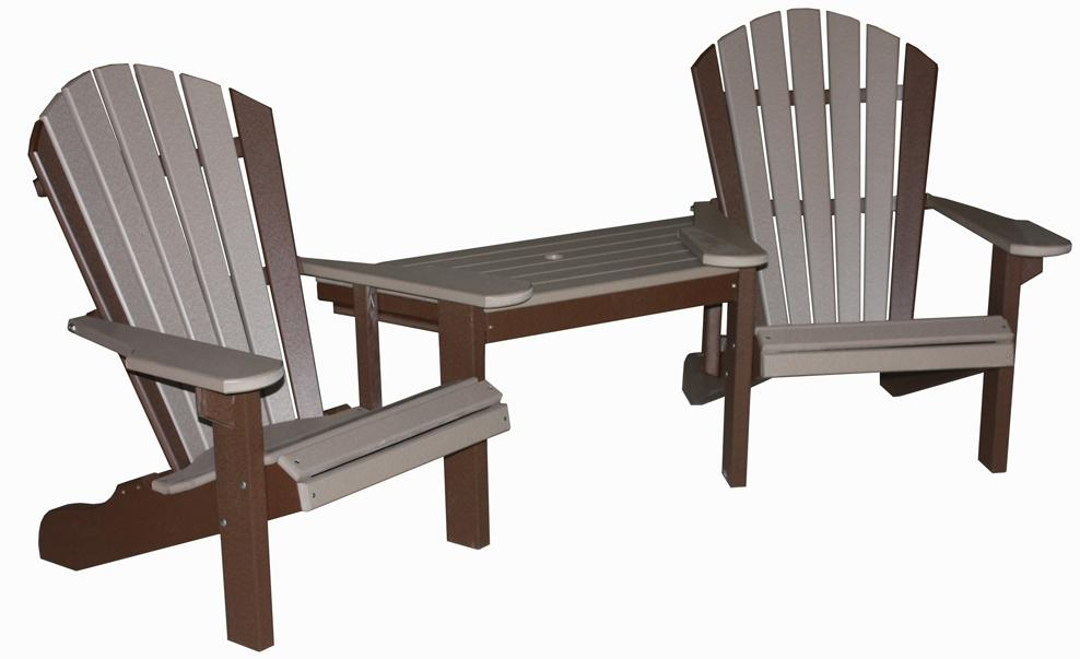 Marvelous CREEKSIDE   Classic Beach Tete A Tete Table And Chair Set (C111)