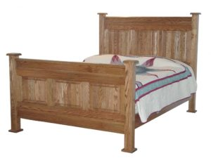 INDIAN TRAIL - American Panel Bed - Dimensions: HB 60 inch, FB 37 inch