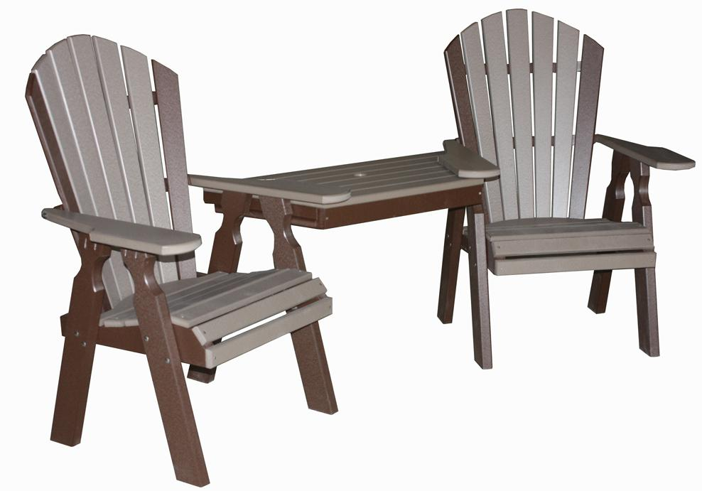 Creekside classic dining tete a tete table and chair set for Classic dining tables and chairs