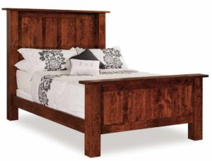 INDIAN TRAIL - Heidi Bed - Dimensions: HB 64 inch, FB 32 inch