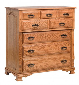 SCHWARTZ - Classic Heritage Bureau - Dimensions: 8 drawers, 41w x 22d x 44h