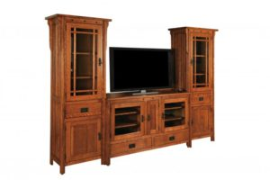 SCHWARTZ - SC-Royal Mission Tower Entertainment Center - Dimensions: 27w x 16.25d x 70h, Can be set up with any Royal Mission TV stand add tower and stand together for complete unit price.