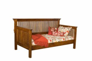 INDIAN TRAIL - Mission Day Bed - Dimensions: H 44 inch, W 83 1/2 inch, D 43 3/4 inch