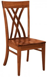 F & N - Oleta Side Chair - Dimensions (in inches): 18.5w x 17d x 39h - Other available styles include arm chair and desk chair.