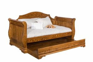 INDIAN TRAIL - Sleigh Day Bed - Dimensions: H 43 3/4 inch, W 86 inch, D 41 3/8 inch