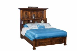 INDIAN TRAIL - Empire Bookcase Bed - Dimensions: HB 70 1/2 inch. Call store for more details.