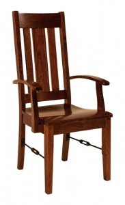 F & N - Ouray Arm Chair - Dimensions (in inches): 23w x 17d x 41.5h - Other available styles include side chair.