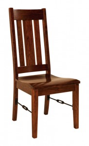 F & N - Ouray Side Chair - Dimensions (in inches): 20w x 17d x 41.5h - Other available styles include arm chair.