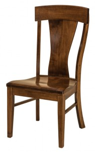 F & N - Ramsey Side Chair - Dimensions (in inches): 20w x 17d x 40.5h - Other avilable styles include arm chair, swivel bar stool, stationary bar stool, and desk chair.