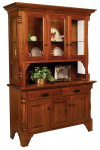 TOWNLINE - Matina 3-Door Open Deck Hutch - Dimensions (in inches): 20d x 54w x 80h, or available 2-Door - 20d x 39w x 80h, or 4-Door - 20d x 70w x 80h - Also available as a base-only sideboard - Custom features and finish options available, please see store for details.