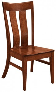 F & N - Sherwood Side Chair - Dimensions (in inches): 18.5w x 17d x 39h - Other available styles include arm chair, swivel bar stool, stationary bar stool, and desk chair.
