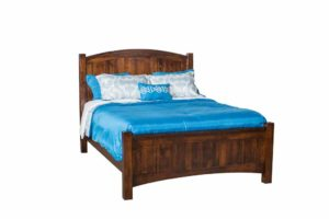 INDIAN TRAIL - Finland Bed - Dimensions: HB 55 1/2 inch, FB 26 inch.