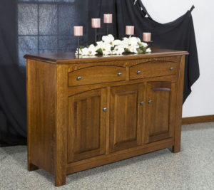 TOWNLINE - Mondovi Sideboard - Dimensions (in inches): 20d x 60w x 38h - Custom features and finish options available, please see store for details.