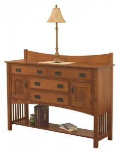 TOWNLINE - Perlon Sideboard - Dimensions (in inches): 18d x 60w x 40h - Custom features and finish options available, please see store for details.