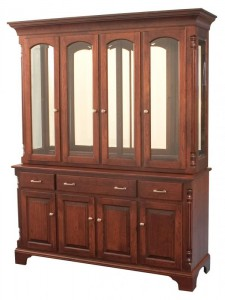 TOWNLINE - Princeton 4-Door Hutch - Dimensions (in inches): 20d x 64w x 82h, also available 2-Door - 20d x 36w x 82h, or 3-Door - 20d x 50w x 82h - Also available as base-only sideboard - Custom features and finish options available, please see store for details.