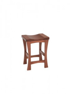 F & N - Kalston Stationary Bar Stool - Dimensions (in inches): 18w x 14d x 24h or 30h (Seat) - No other chair styles available.