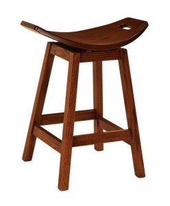 F & N - Wilford Swivel Bar Stool - Dimensions (in inches): 22w x 13.5d seat with 24h or 30h - Available as a swivel or stationary bar stool.