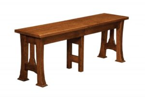 WEST POINT - Cambridge Bench - Dimensions (in inches): 12.5 x 24, 12.5 x 36 Solid Top Only, 12.5 x 48, 12.5 x 60, and 12.5 x 72 Solid Top or up to 4 Leaves.