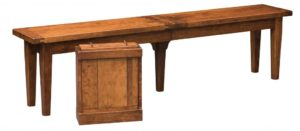 WEST POINT - Jacoby Bench - Dimensions (in inches): 12.5 x 48, 12.5 x 60, and 12.5 x 72.