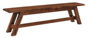WEST POINT - Timber Ridge Bench - Dimensions (in inches): 12.5 x 48 , 12.5 x 60, 12.5 x 72 Solid top only.