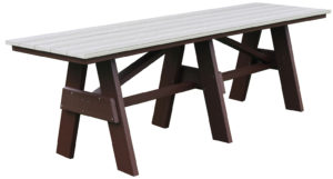 "CREEKSIDE - A Frame Table (AT8) 8' long Table 28"" wide"