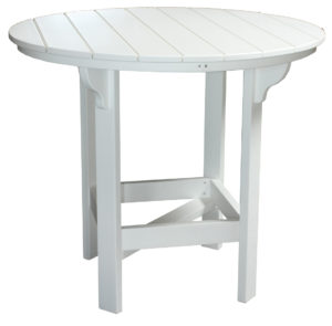 "CREEKSIDE - 48"" Round Bar Table (RT48B) - Size: 48 inches, bar height."