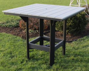 "CREEKSIDE - Bar Square Table (ST48B) 48"" Square Bar Table"