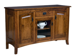 TOWNLINE - Cambria 3-Door Sideboard - Dimensions (in inches): 20d x 60w x 38h - Custom features and finish options available, please see store for details.