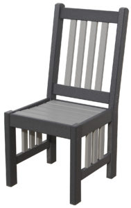 CREEKSIDE - Mission Chair (M209) - Size: 18 inches.