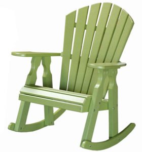 CREEKSIDE - Classic Dining Rocker (C118) - Size: 22 inches