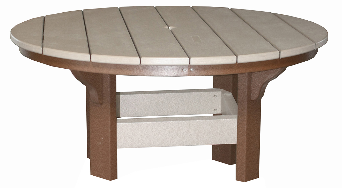 Creekside round coffee table three sisters furnishings creekside round coffee table ct42 size 42 inches geotapseo Image collections