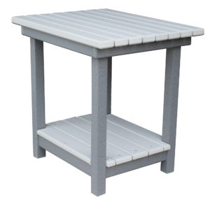 CREEKSIDE - Deluxe End Table (DET22) - Size: 22 inches high, top is 18 inches x 22 inches.
