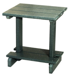 CREEKSIDE - End Table (ET20) - Size: 22 inches high, 17 inch x 20 inch top.