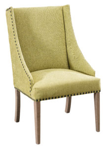 """F & N - Bristow Arm Chair Overall: 23.25""""w x 27.25""""d x 41.75""""h Seating: 22""""w x 18.25""""d Seat height: 20"""" Back height from seat: 23"""""""