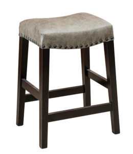 """F & N - Carter Bar Stool Seating: 17.25""""w x 14""""d Seat height: 24"""" or 30"""""""