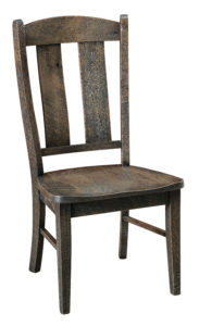 """F & N - Gayle Side Chair Overall: 20.5""""w x 22.5""""d x 40.75""""h Seating: 20.5""""w x 17.75""""d Seat height: 18"""" Back height from seat: 24.5"""""""