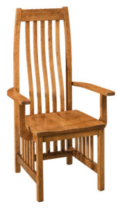 """Overall: 24.24""""w x 21.75""""d x 48""""h Seating: 20.25""""w x 17.5""""d Seat height: 17.75"""" Back height from seat: 30.75"""""""