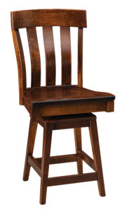 F & N - Raleigh Swivel Bar Chair Call store for measurements