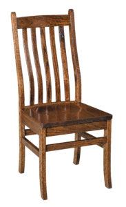 """F & N Abe Side Chair: 17.5""""w x 17""""d x 39"""" h"""