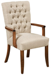 F & N - Alana Arm Chair - Dimensions (in inches): 24w x 17d x 39h - Other available styles include arm chair, swivel bar stool, and desk chair.