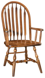 """F & N Bent Paddle Arm Chair: 25""""w x 16""""d x 40""""h"""