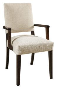 """F & N Canaan Arm Chair: 22.5""""w x 18""""d x 36.5""""h"""