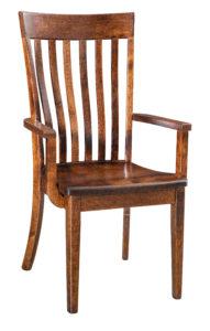 """F & N Chandler Arm Chair: 23""""w x 17.5""""d x 39.25""""h"""