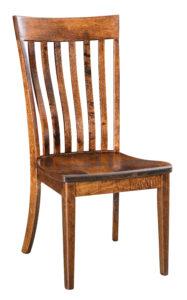 "F & N Chandler Side Chair: 19""w x 17.5""d x 39.25""h"