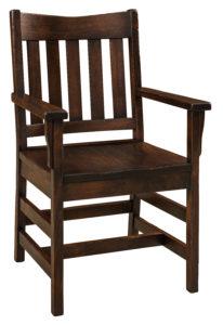"F & N Colbran Arm Chair: 23""w x 17""d x 35.5""h"