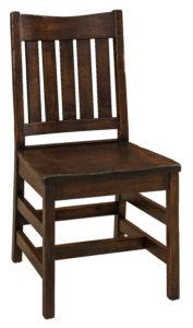 "F & N Colbran Side Chair: 18""w x 17""d x 35.5"""