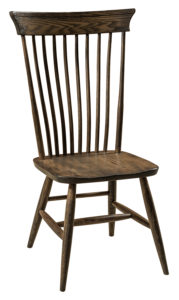 F & N - Concord Side Chair - Dimensions (in inches): 18w x 17d x 40h - Other available styles include arm chair, arm bench, swivel bar stool, stationary bar stool, and desk chair.