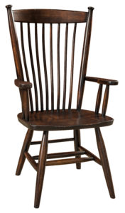 "F & N Easton Shaker Arm Chair: 25""w x 16.5""d x 38""h"